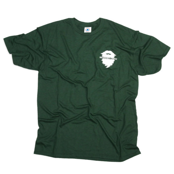Front of bearded crew t shirt
